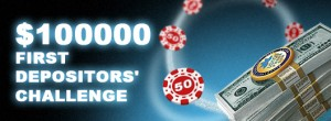 100K First Depositors' Challenge big promotion image