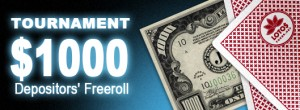 1K depositers freeroll big promotion image