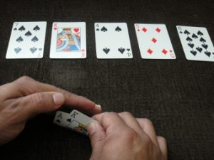 Flush-Poker-Hand